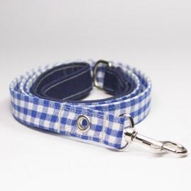 Correa Preppy Azul para perros caninetto