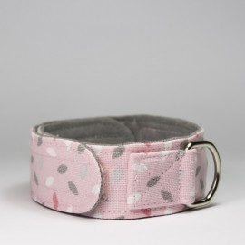 Collar Virutas Rosas para perros de caninetto
