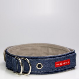 collar para perros denimporn de caninetto barcelona