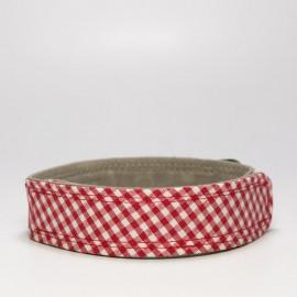 Collar picnic rojo caninetto