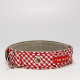 """""""Piknik"""" collar para perros rojo"""