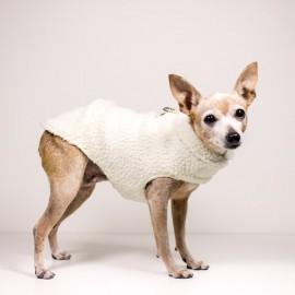 Abrigo para perros borrego crudo de caninetto barcelona