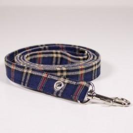 Correa Escoces azul para perros de caninetto barcelona
