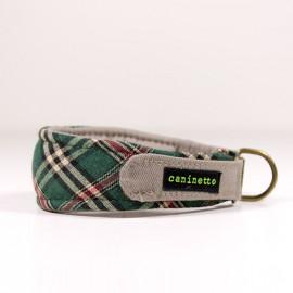 Collar para galgos Escoces verde de caninetto barcelona