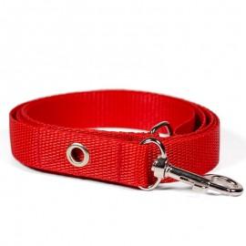 Correa para perros roja de caninetto