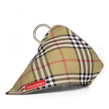 Bandana para perros modelo British de caninetto