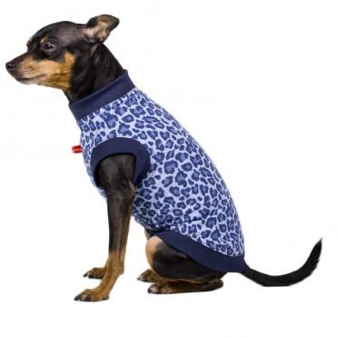 Camiseta leopardo lila