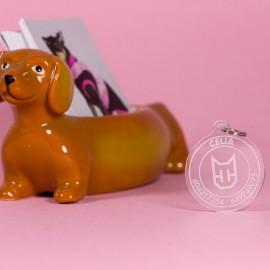 Placa identificativa redonda para perros de caninetto