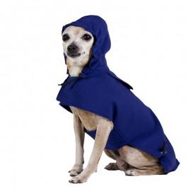 Chubasquero Azul para perros