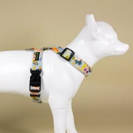 Arnes de tiras Flor de Campo para perro