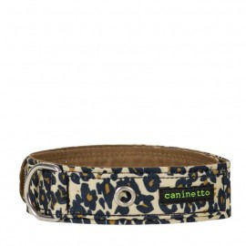 Collar para perros animal print estampado leopardo de caninetto barcelona