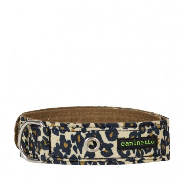 Collar para perros animal print estampado leopardo de caninetto barcelona