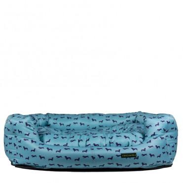 Cama nido Teckel Azul