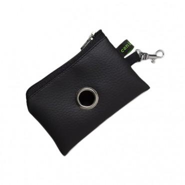 Porta-bolsas Mini Negro de caninetto