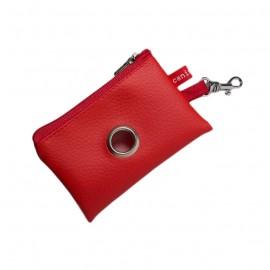 Porta-bolsas Mini Rojo