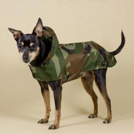 Chubasquero Camuflaje para perros