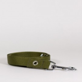 Correa para perros verde khaki de caninetto