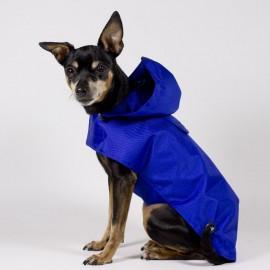 Chubasquero Azul para perros de caninetto