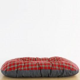 Cama nido escoces rojo