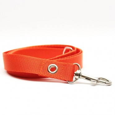 Correa para perros naranja de caninetto