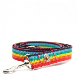 Correa para perros arco iris de caninetto