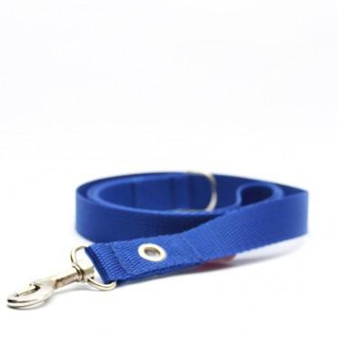 Correa para perros azul eléctrico de caninetto