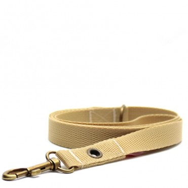 Correa para perros khaki de caninetto