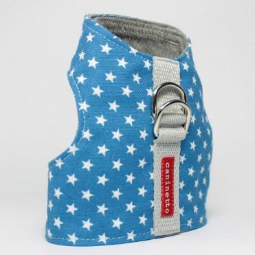 Chaleco-arnes estrellitas azul
