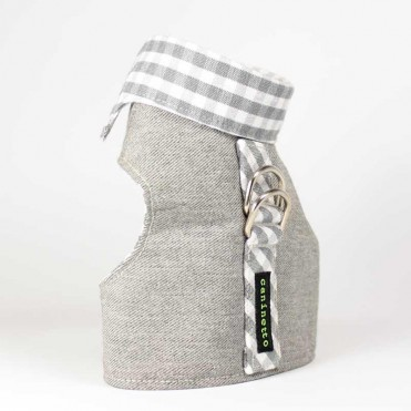 Arnes preppy gris caninetto