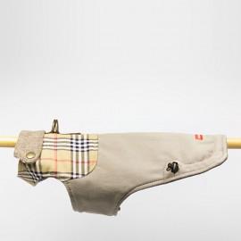 Abrigo canesu British caninetto