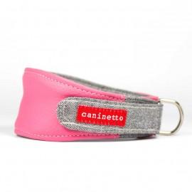 Collar para galgos Rosa Coral caninetto barcelona