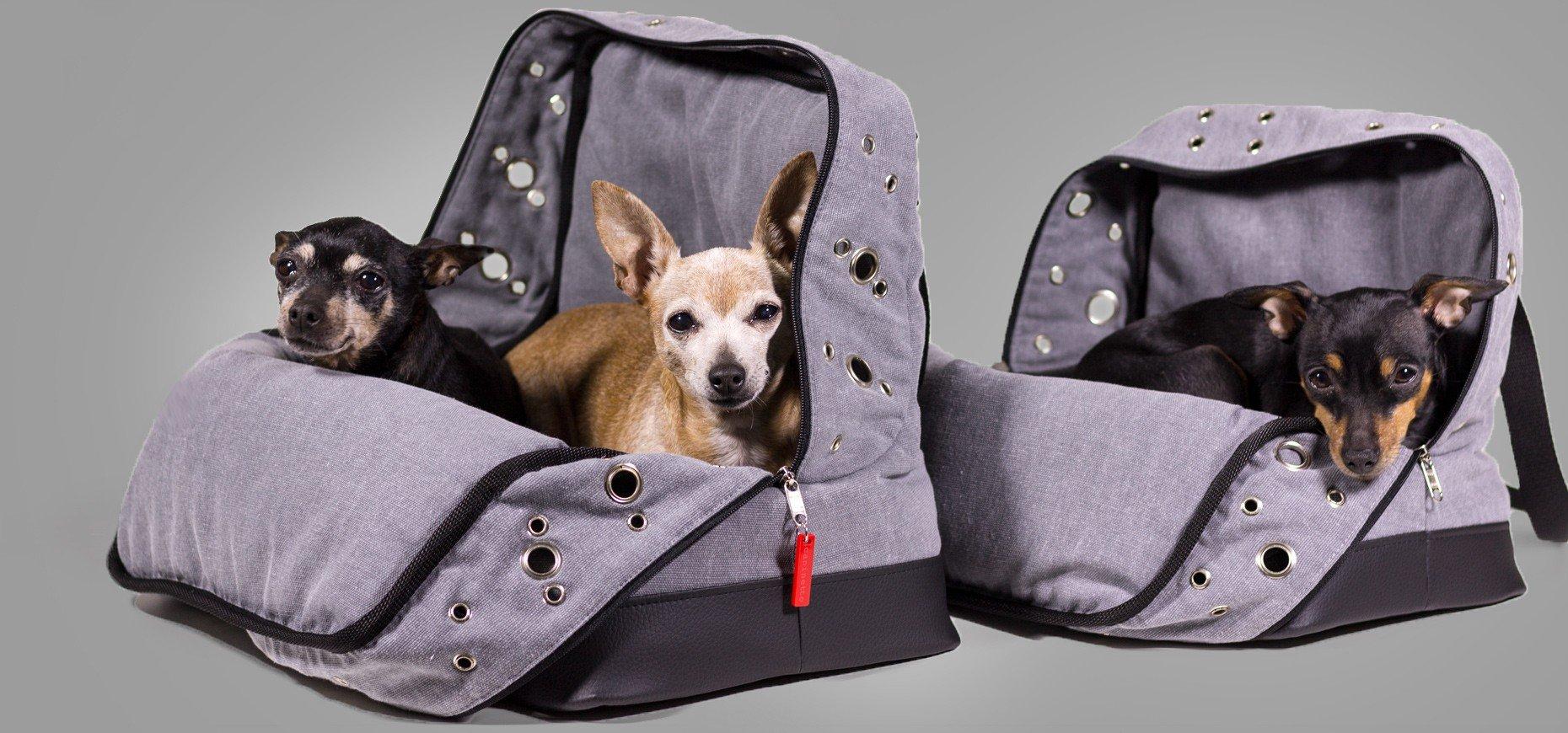Bolsos de avión para perros caninetto